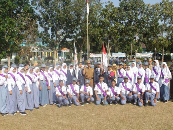 Pelantikan OSIS SMA Negeri 1 Sidomulyo Periode 2019-2020